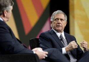 """CBS's president Les Moonves: What's bad for America is """"very good for CBS."""" (Photo cred.: LATimes.com)"""