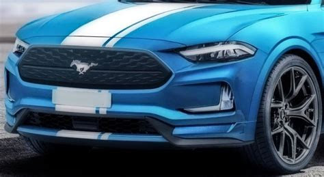 ford mustang mach   performance electric suv