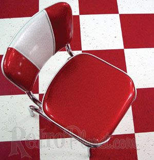chair and tiles