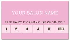 CPS-1012 - salon coupon card