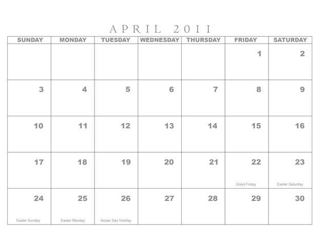 may calendar 2011 with holidays. Blank Calendar - May 2011