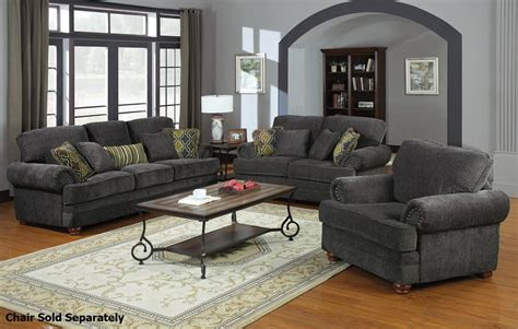 colton grey fabric sofa  loveseat set steal  sofa