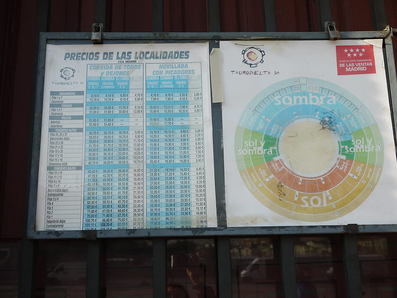 凡塔斯鬥牛場 Plaza de Toros de Las Ventas