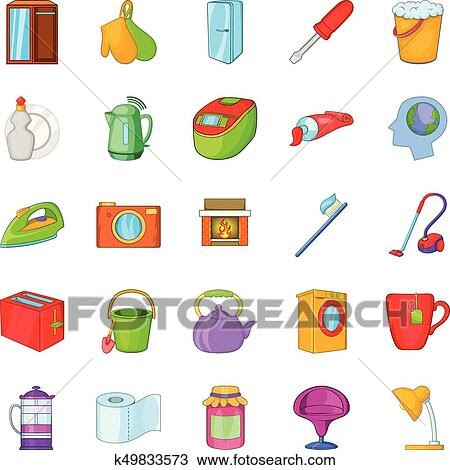 Best Of Cleaning Kitchen Cartoon Images pictures
