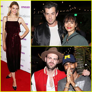 Jaime King, Mark Ronson & Rashida Jones Celebrate Grand Opening of The Highlight Room!