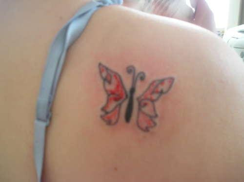 Tiny Butterfly Tattoo Designs On Shoulder For Women Tattoomagz