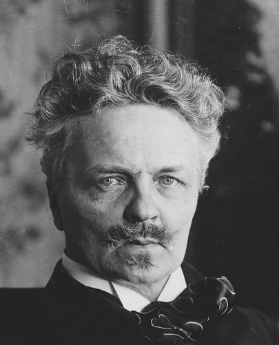 Strindberg, August (1849-1912) by Photographer Unknown to Me by RasMarley