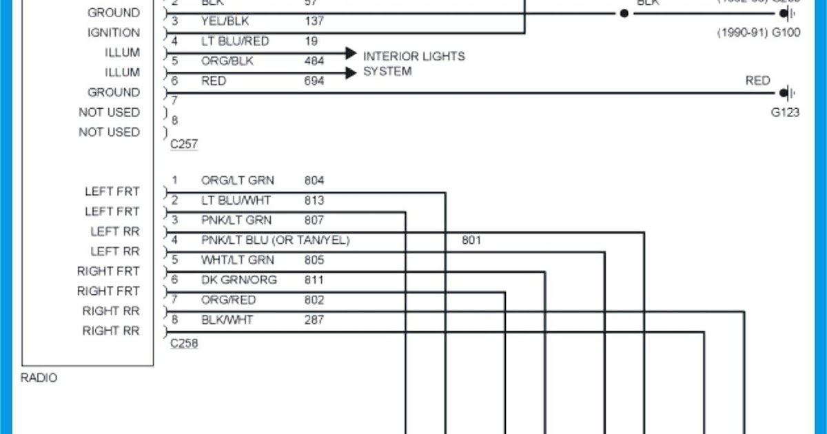 2005 Volvo S40 Radio Wiring Diagram