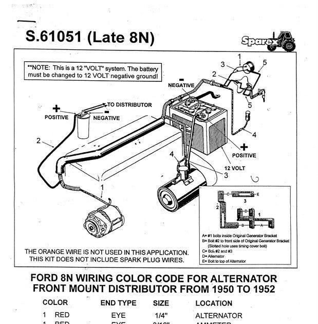 1952 ford 8n 12 volt wiring diagram 28 8n ford tractor wiring diagram wiring diagram list  28 8n ford tractor wiring diagram