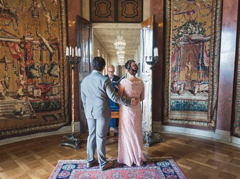 Elizabeth and Daniel?s Wedding at Stockholm City Hall ? S