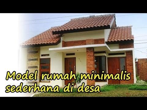 model teras rumah minimalis di desa