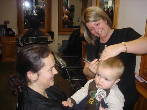 First hair-cut