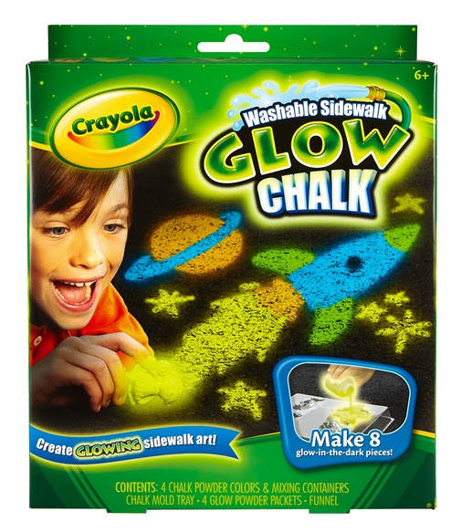 Washable Sidewalk Glow Chalk