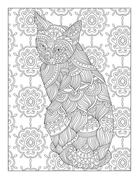 catological coloring book  cat lovers  unique full