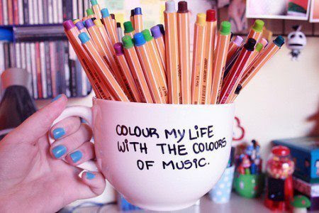 Colour My Life With The Colours Of Music Unknown Picture Quotes