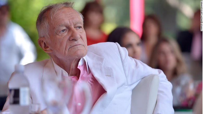 IMG HUGH HEFNER, American Publisher and Playboy