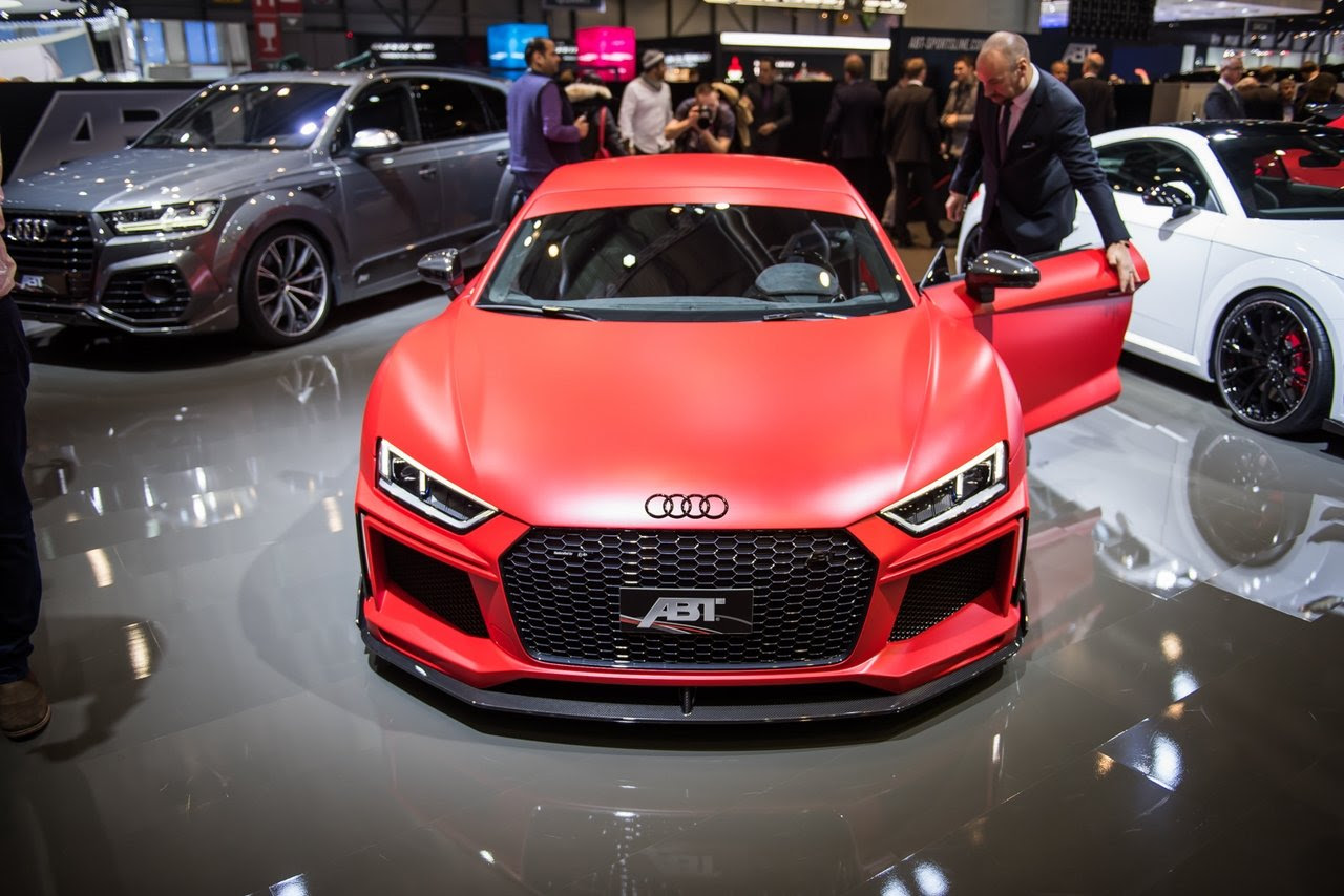 2017 Audi R8 V10 By ABT Sportsline  Picture 709809  car review @ Top Speed
