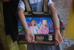 The Accursed Indian School Bag by firoze shakir photographerno1