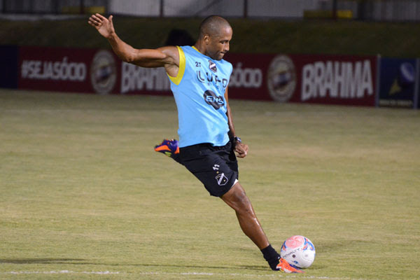 Rodrigo Silva foi artilheiro do Alvinegro nesta temporada