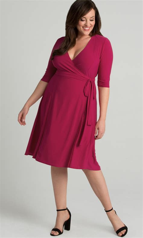 Essential Wrap Dress Sale!: Kiyonna Clothing