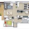 Kumpulan Gambar Desain Rumah Minimalis Modern 1 Lantai 2 Kamar Tidur