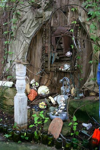 japanese garden angel shrine