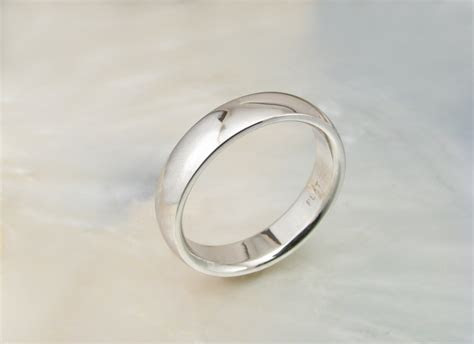 mens wedding band platinum wedding ring  ravensrefuge