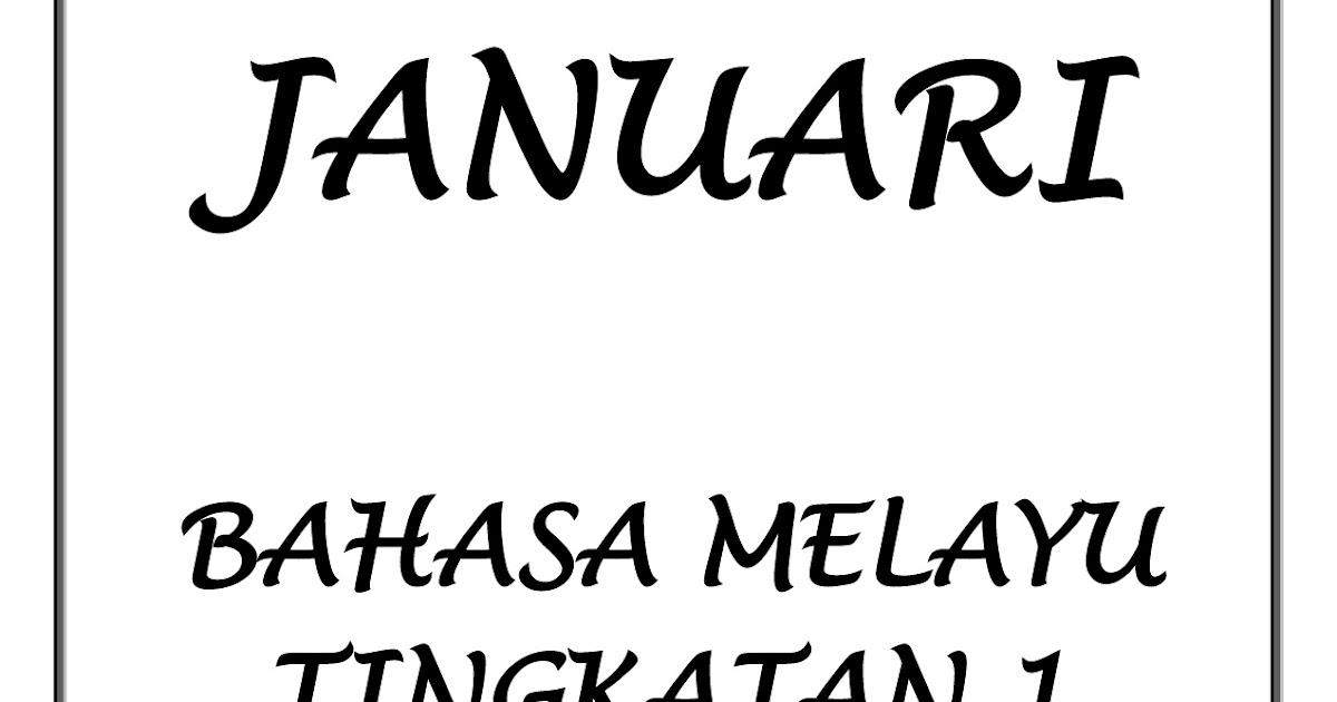 Contoh Soalan Kssm Bahasa Melayu Tingkatan 1 2019 - Contoh Win