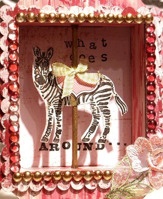 A Carousel Zebra of my own