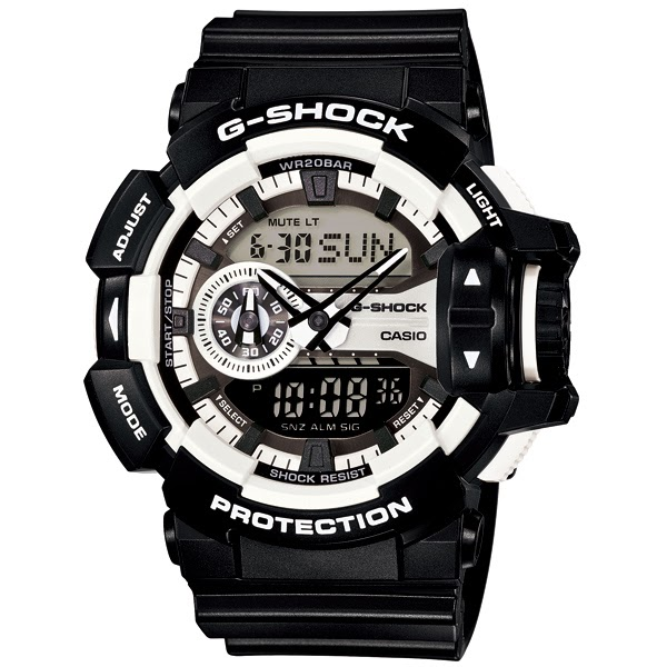 G Shock Settings Men's Watch GA-400