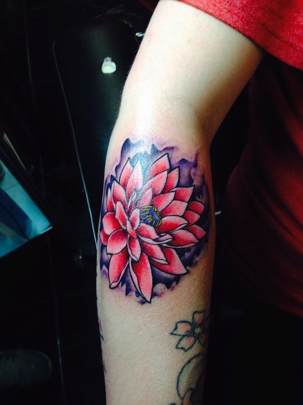 65+ Lotus Flower Tattoo Designs that is full of Meanings ...