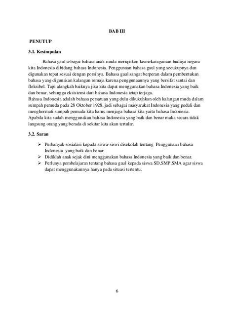 Makalah tentang bahasa indonesia : penggunaan bahasa indonesia