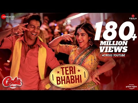 TERI BHABHI LYRICS COOLIE NO 1KAKKAR