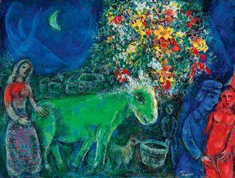 L'âne vert