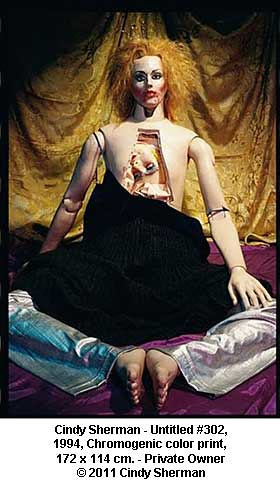 Cindy Sherman - Untitled #302, 1994 by artimageslibrary
