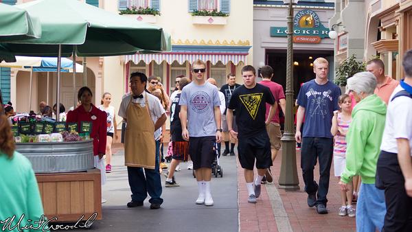 Disneyland Resort, Disneyland, Main Street U.S.A., Center Street
