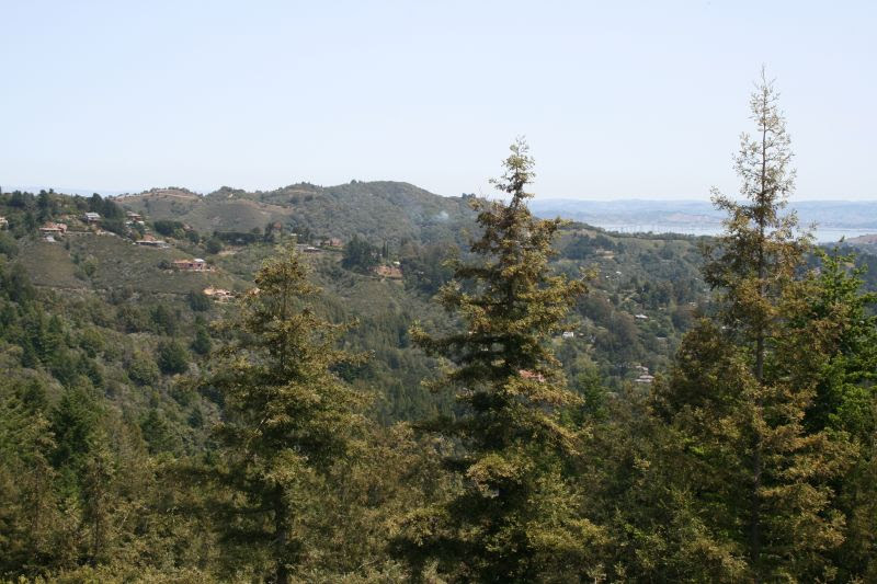 View from Mt. Home Inn's deck