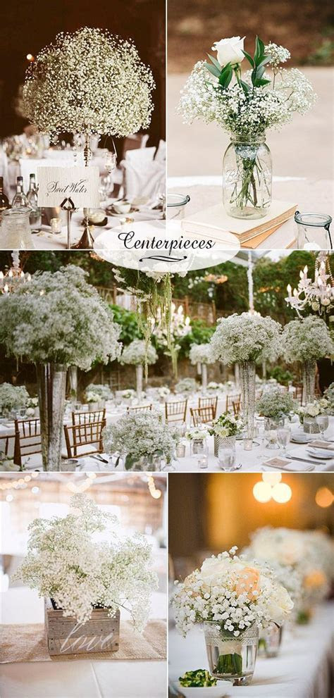 Wedding Flowers: 40 Ideas to Use Baby?s Breath   Wedding