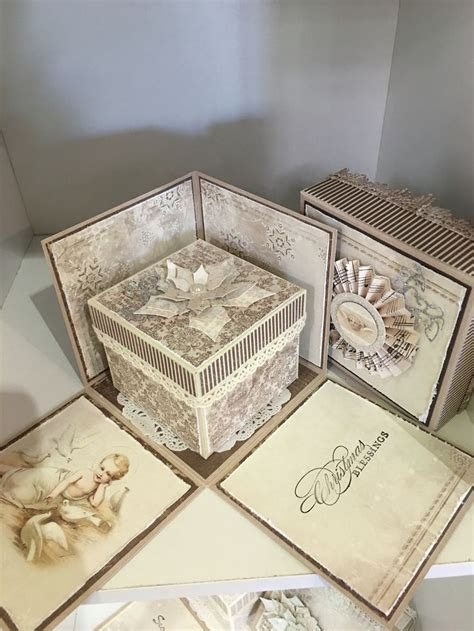 My Christmas Exploding Card Box   Creations by Moi (Me