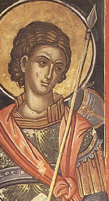 IMG ST. LUPUS, Martyr, the Servant of St Demetrius of Thessalonica