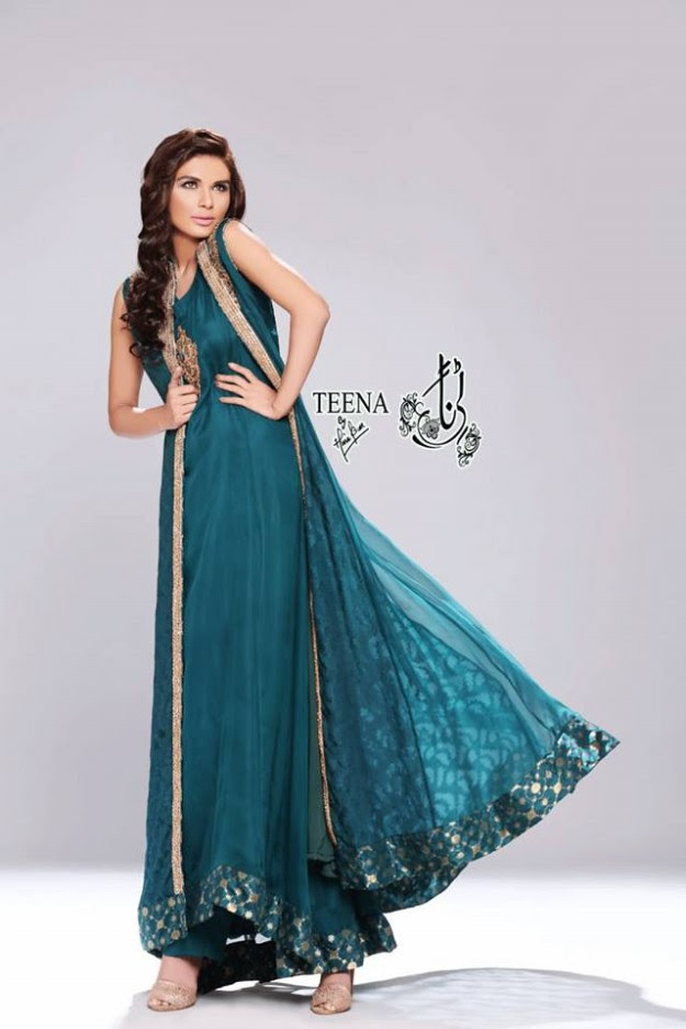 Womens-Girl-New-Fashion-Summer-Spring-Casual-Formal-Party-Wear-Suits-Teena-by-Hina-Butt-3