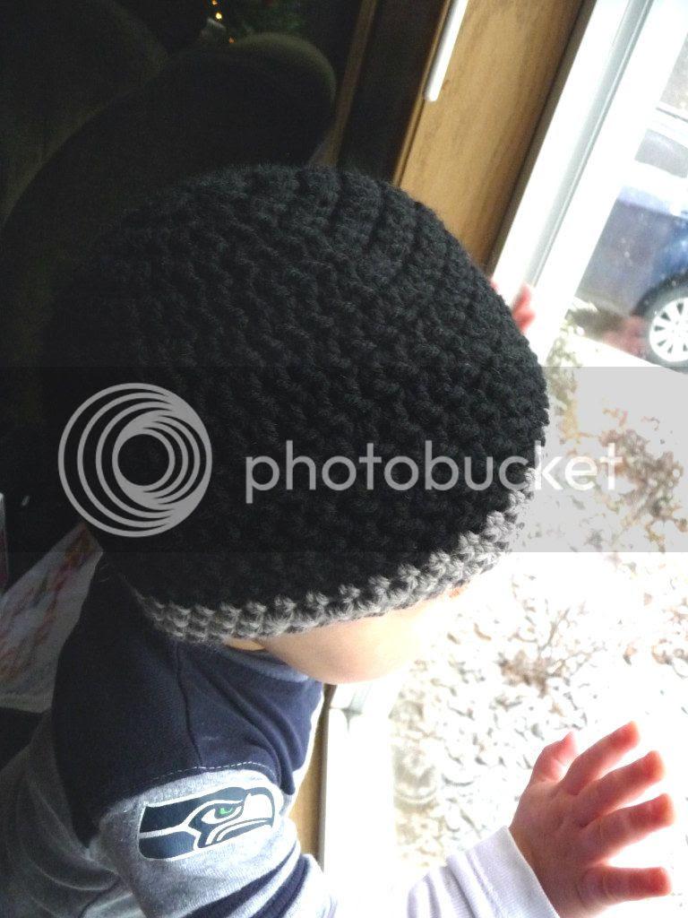 crochet basic baby beanie pattern 18-24 months