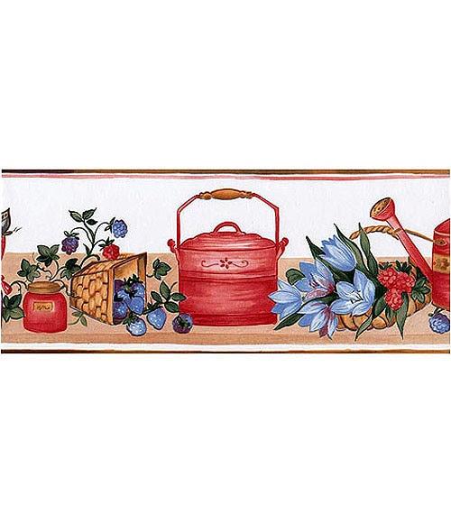 Dormitorio muebles modernos cenefas papel pintado leroy - Empapelar azulejos cocina ...