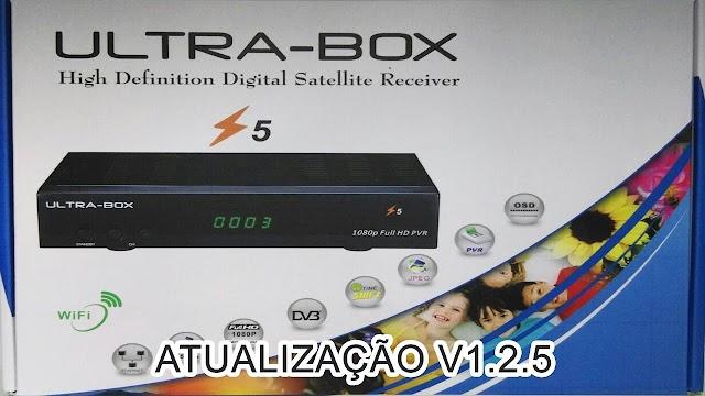 ULTRABOX Z5 NOVA ATUALIZAÇÃO V1.25 - 13/09/2017