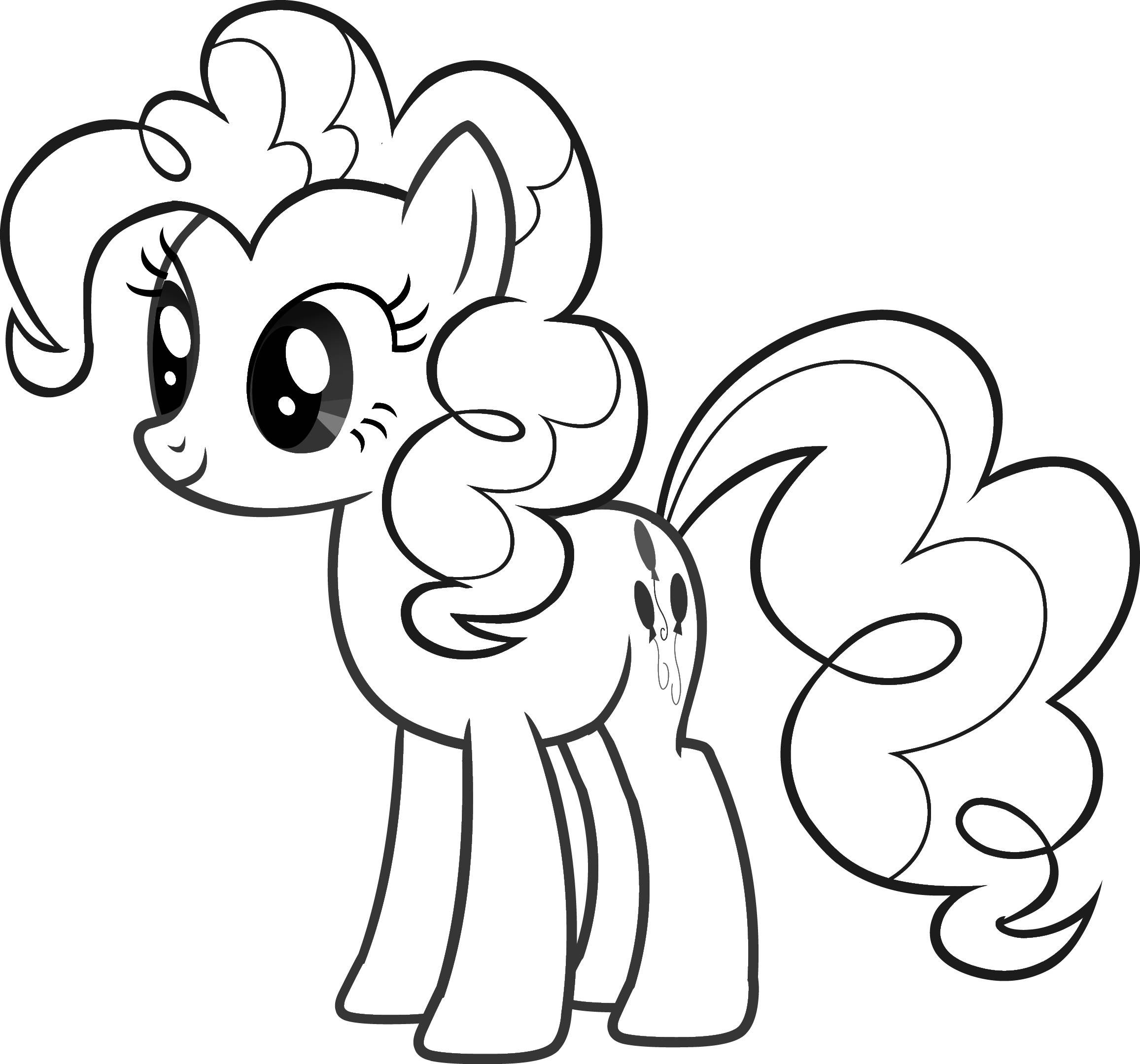 76+ My Little Pony Coloring Book Pinkie Pie Picture HD