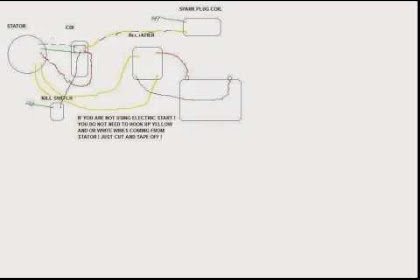 Get 125 Pit Bike Wiring Diagram Background