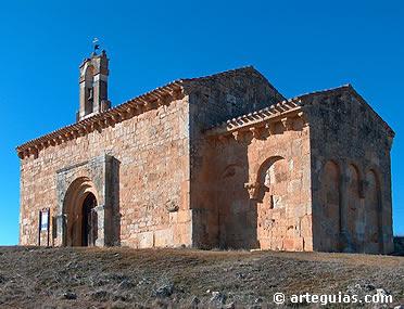 Coruña del Conde. Ermita del Santo Cristo