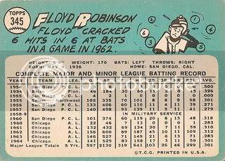 #345 Floyd Robinson (back)
