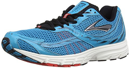 b80dc858224 Brooks Mens Launch Running Shoes 1100651D041 Caribbean Sea Black Silver 7 UK
