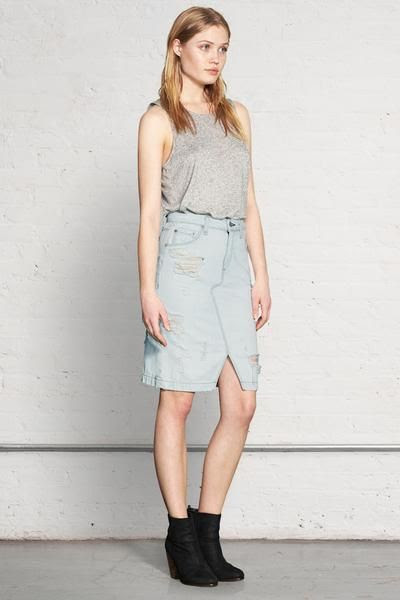Rag and Bone Denim Skirt